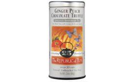Ginger Peach Chocolate Truffle