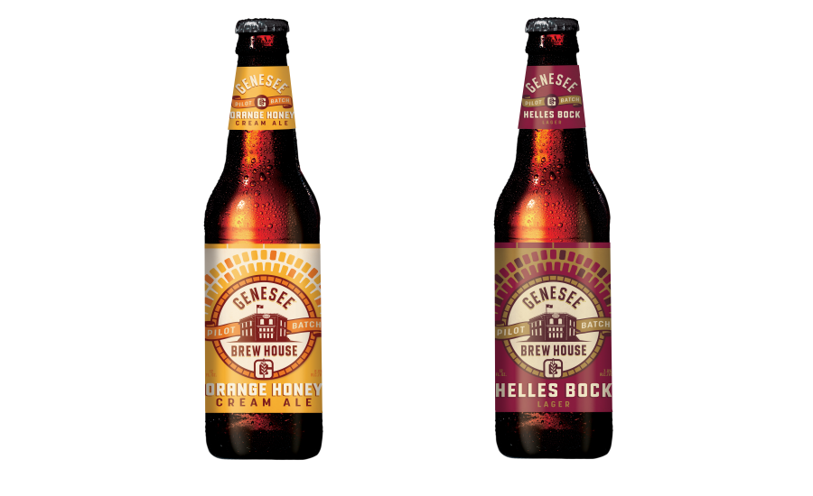 Genesee Orange Honey Cream Ale, Helles Bock
