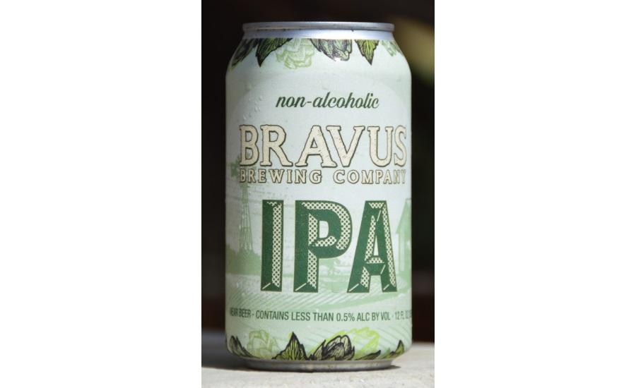 Bravus non-alcohol IPA
