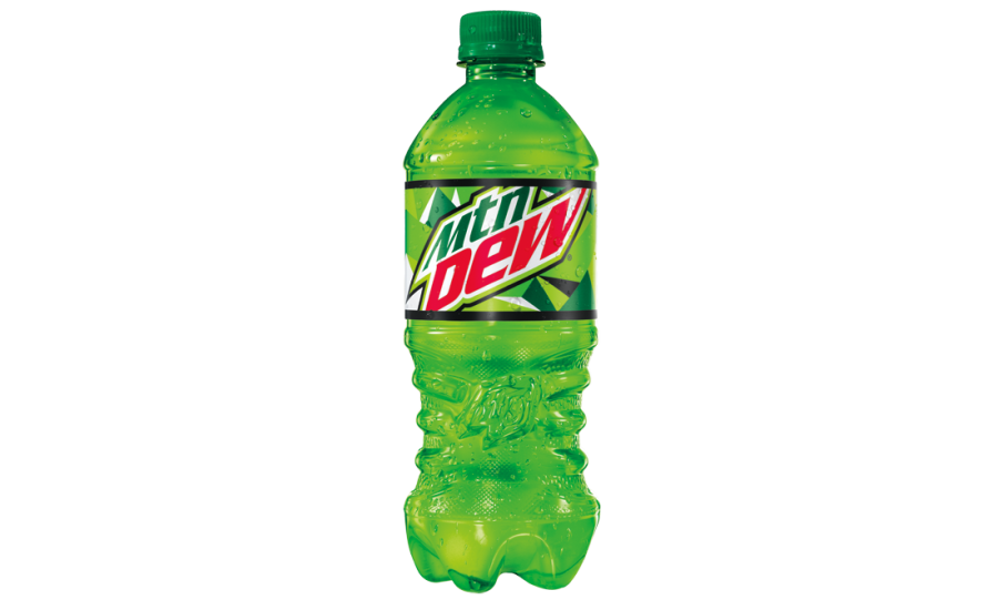 Mountain Dew new label