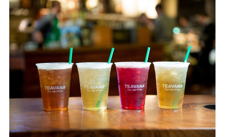 Starbucks iced teas