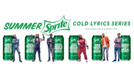 Sprite Cold Lyrics Series
