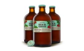 Brew Dr. Strawberry Basil Kombucha