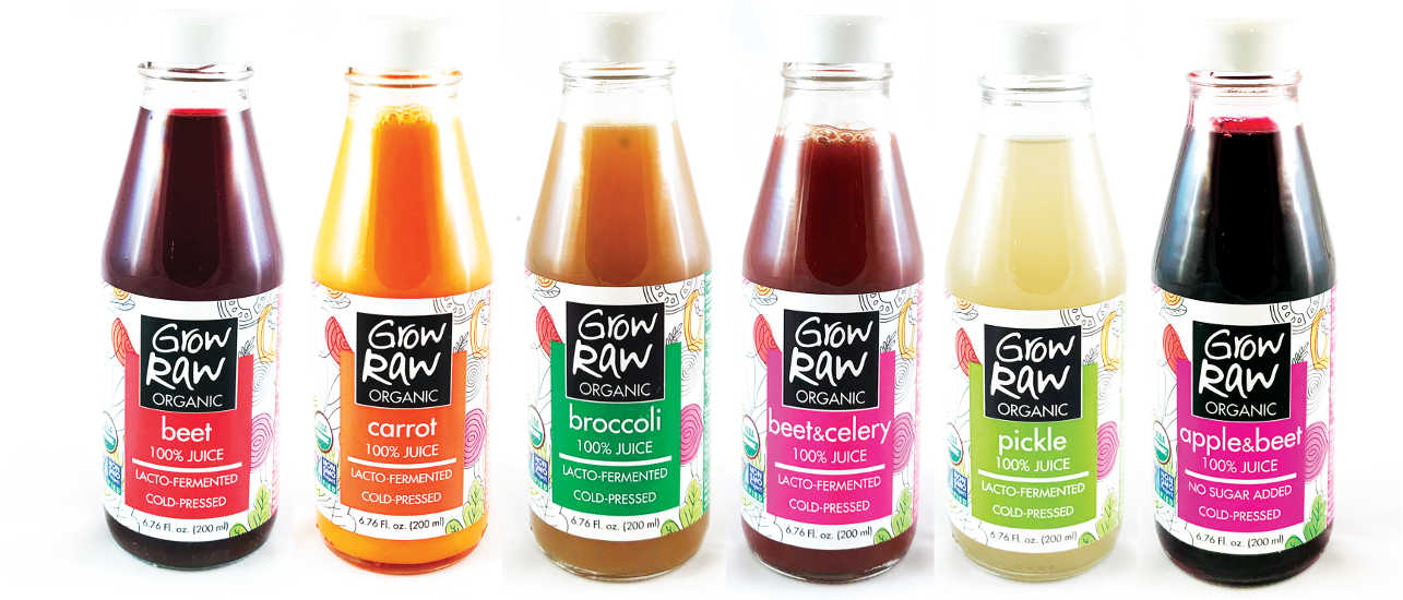 Grow Raw Organic Lacto Fermented Juices