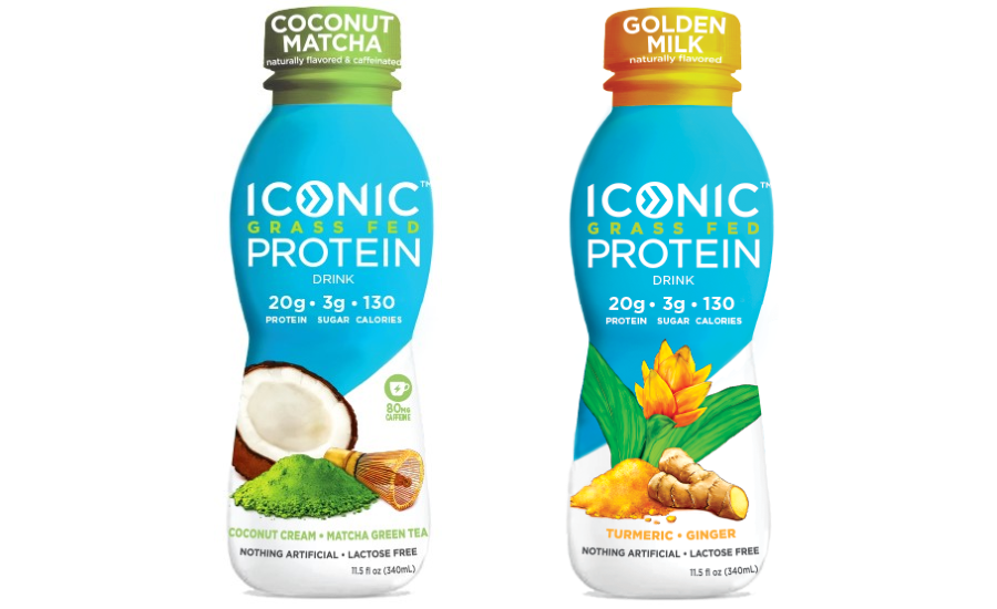 Iconic Protein Golden Milk, Coconut Matcha