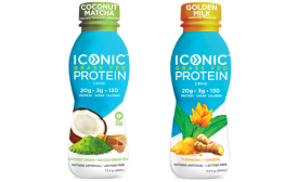 Iconic Protein Golden Milk, Coconut Matcha - Beverage Industry