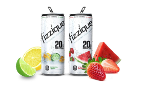 Fizzique Sparkling Protein Water - Beverage Industry