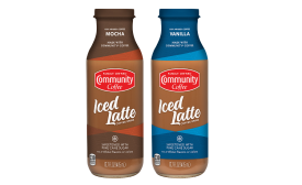 Community Iced Latte Coffee Drinks - Beverage Industry