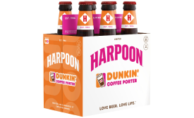 Harpoon Dunkin' Coffee Porter - Beverage Industry