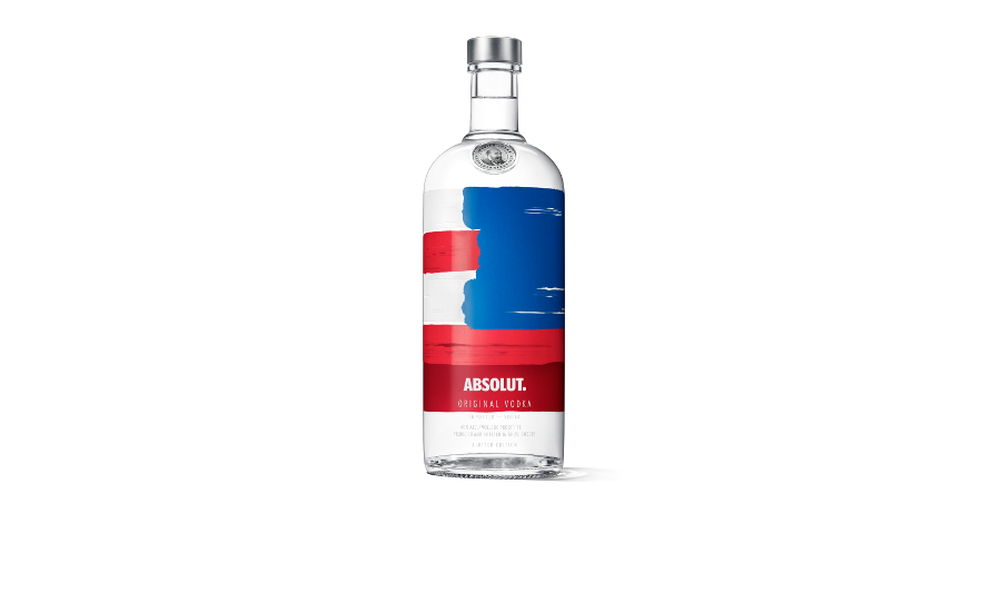 Absolut Vodka released a new limited-edition bottle: Absolut America - Beverage Industry