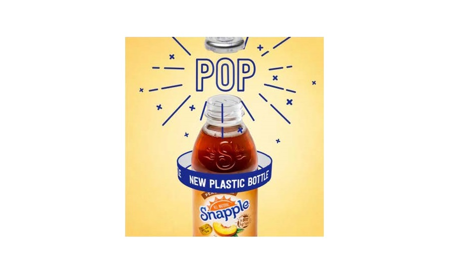 Snapple releases PET version of iconic glass bottle | 2018-01-08