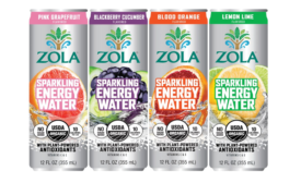 Zola Organic Sparkling Water
