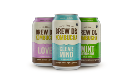 Brew Dr. Kombucha new cans - Beverage Industry