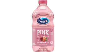 Ocean Spray picks pink - Beverage Industry