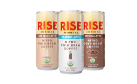 RISE Brewing Co. Nitro Cold Brew Lattes - Beverage Industry
