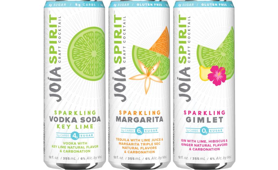 Joia Spirit Low Sugar Sparkling Cocktails
