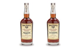 Doc Pepe's Lab Barrel-Finished Manhattan and Old Fashioned