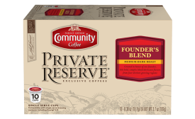 Community Coffee Private Reserve Single-Serve - Beverage Industry