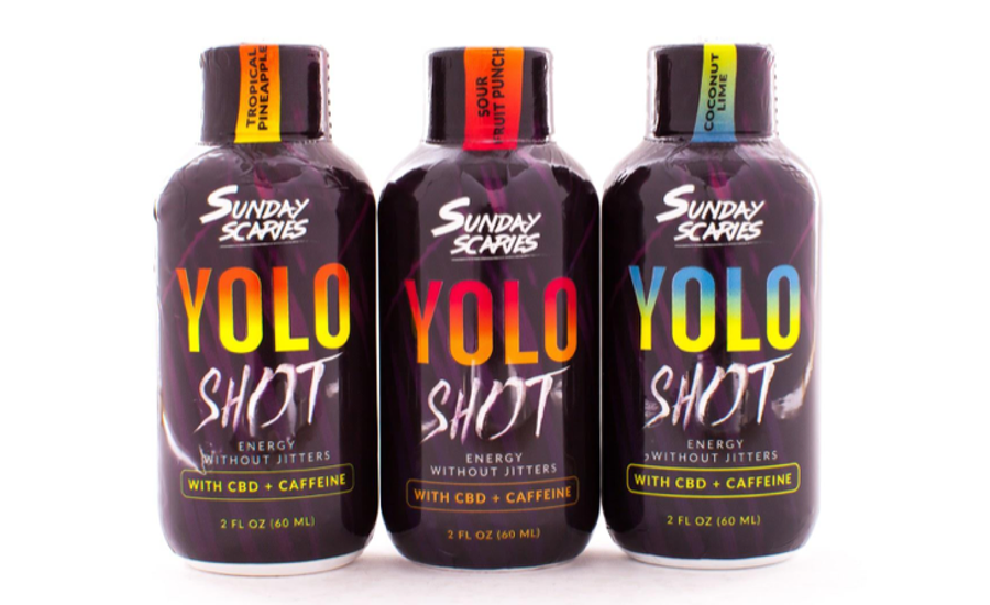 YOLO Shots: CBD-Infused Caffeine Shots