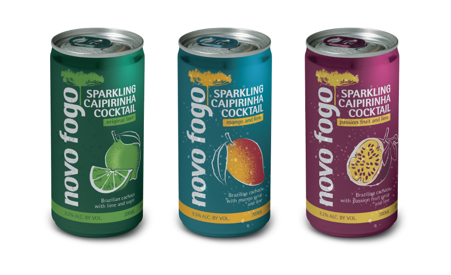 Sparkling Caipirinha: Passion Fruit-Lime and Mango-Lime | 2019-06-14 | Beverage Industry
