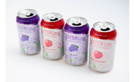 Waterloo Sparkling Water: Grape and Strawberry - Beverage Industry