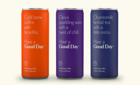 Good Day Chamomile Herbal Tea, Citrus Sparkling Water
