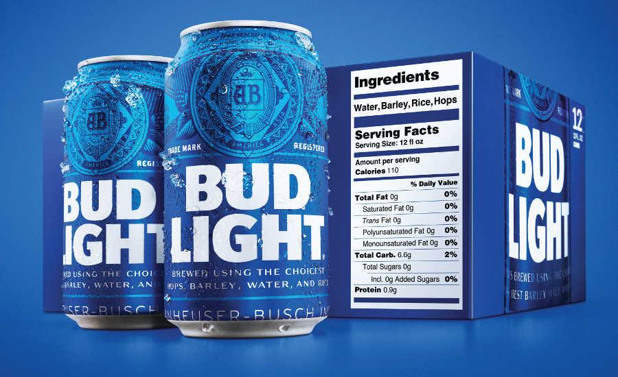 Bud Light announces transparent packaging design | 2019-01