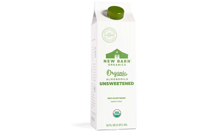 New Barn Organics Carton
