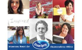 Ocean Spray International Women's Day
