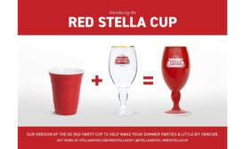 Stella Artois Red Cup