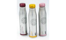 Sterling Vineyards aluminum bottles