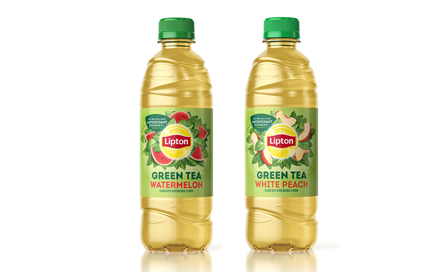 Lipton Green Tea White Peach Watermelon 2020 03 16 Beverage Industry