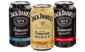 Jack Daniel's RTD cocktails