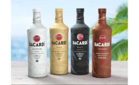 Bacardi biodegradable bottle