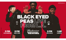 Budweiser Black Eyed Peas