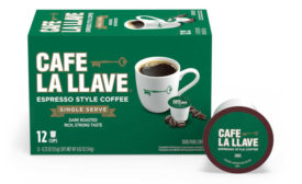 Cafe La Llave single cup