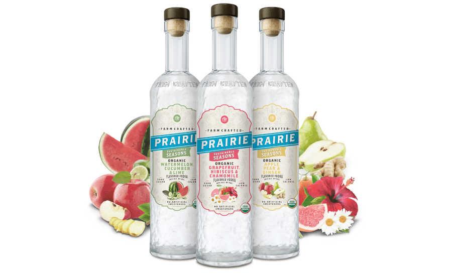 Prairie Organic Spirits debuts botanical vodka collection