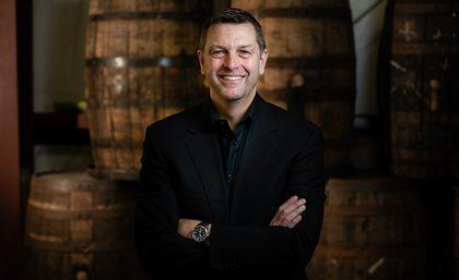 Simon Burch, CEO of Green River Spirits Company