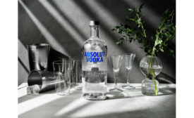 Absolut Vodka New Bottle