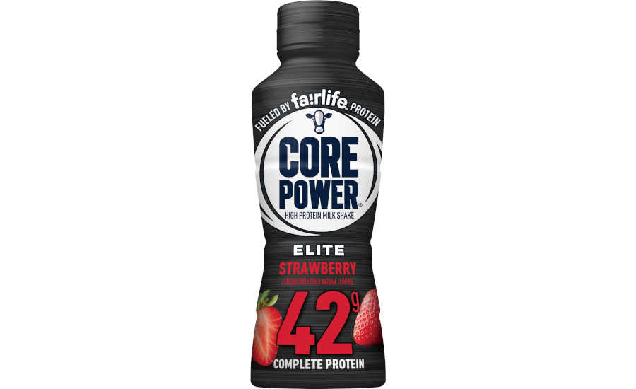 Core Power Strawberry Protein Shake