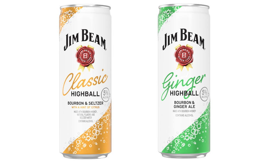 Jim Beam debuts ready-to-drink highball cocktails