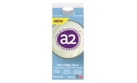 A2 fat free milk