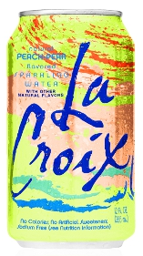 LaCroix Sparkling Water Peach-Pear