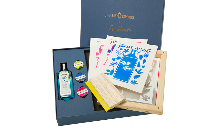 BOMBAY SAPPHIRE cocktail kit