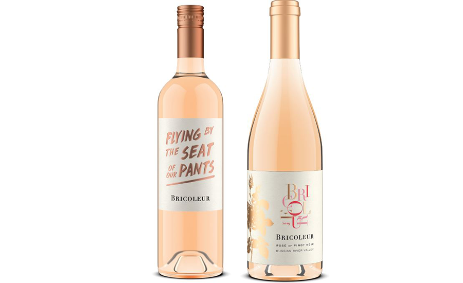 "2019 Estate Rosé of Pinot Noir, 2019 ""Flying By the Seat of Our Pants"" Rosé of Grenache"