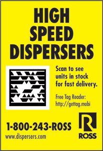 HIGH SPEED DISPERSERS