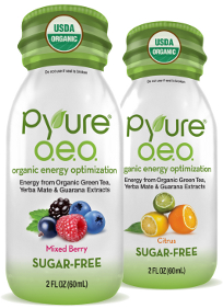 Pyure O.E.O. energy shots