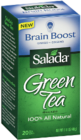 Salada Green Tea herbal blends