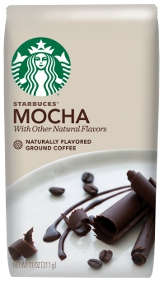 Starbucks Mocha Naturally Flavored Ground Coffee