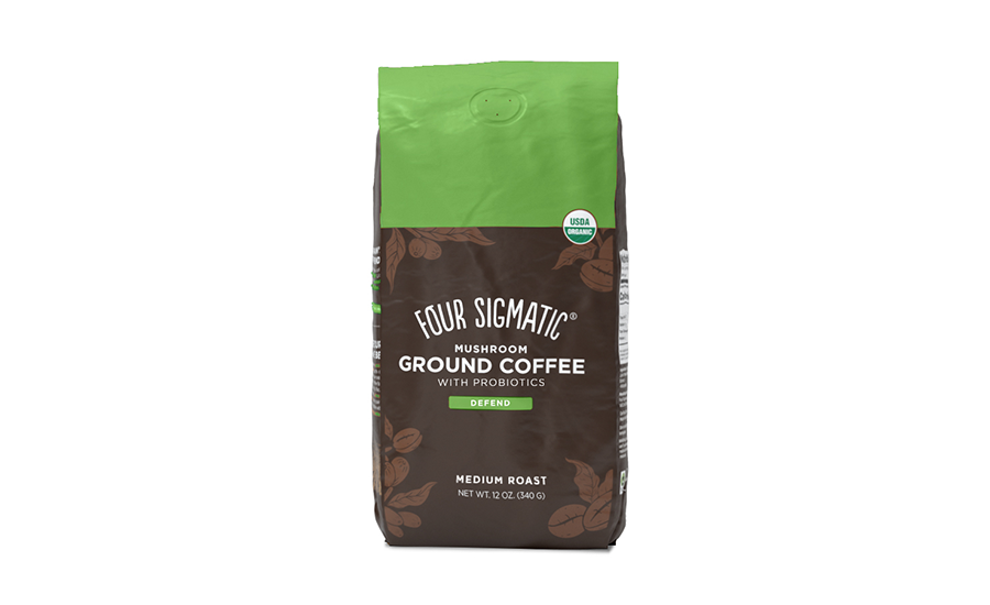 Four Sigmatic Mushroom Ground Coffee with Probiotics